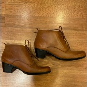 Clark's Brown leather ankle boots
